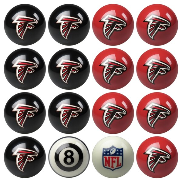 16 Piece NFL Billiard Ball Set by Imperial Interna