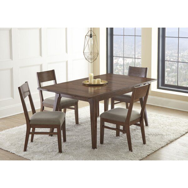 Lehto 5 Piece Extendable Dining Set by Union Rustic