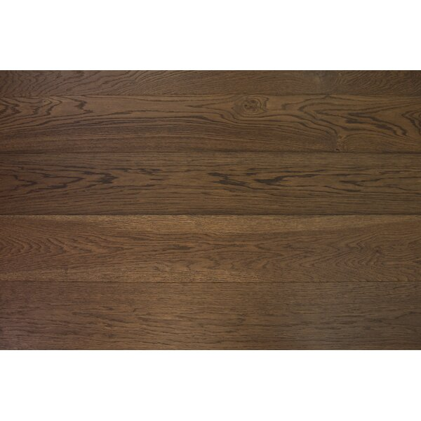 Bergen 7-1/2 Engineered Oak Hardwood Flooring in Brown by Branton Flooring Collection
