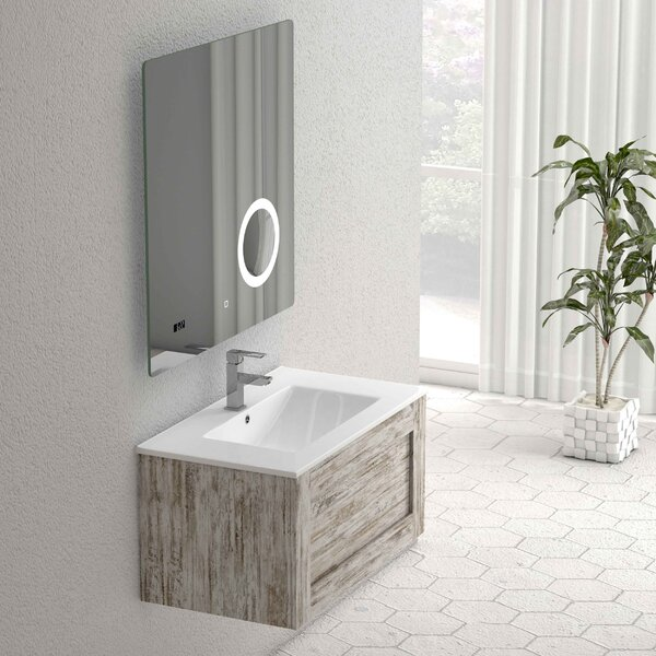 Casandra 24 Single Bathroom Vanity Set by Highland Dunes
