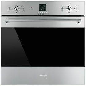 24 Electric Single Wall Oven by SMEG