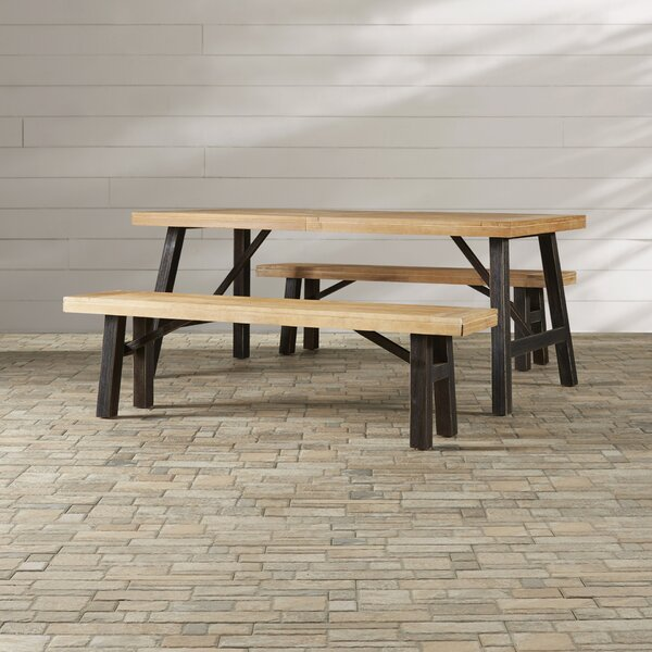 Benedetto 3 Piece Dining Set