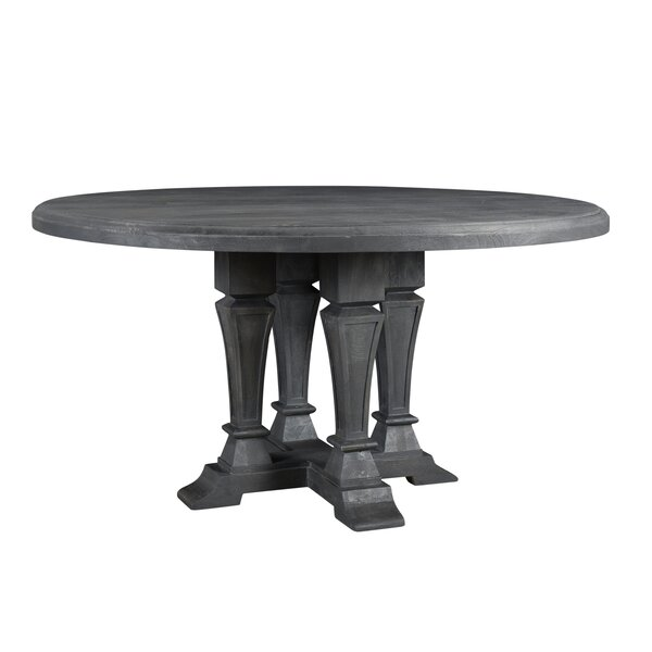 Rael Solid Wood Dining Table by Gracie Oaks Gracie Oaks