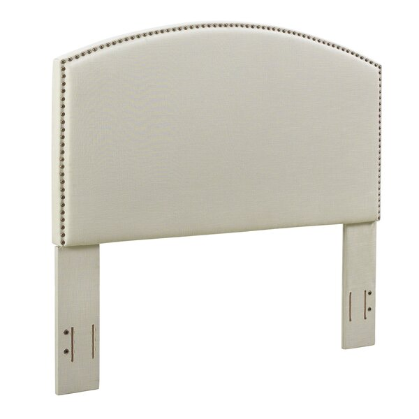 Benedict Curved Upholstered Panel Headboard by Alcott Hill