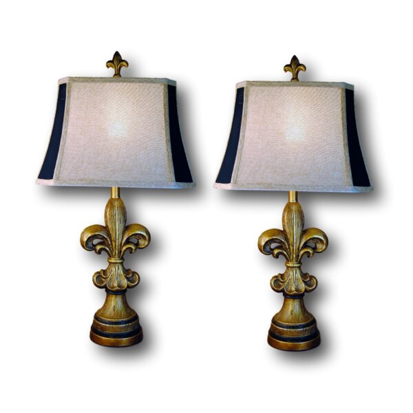 Brodus 29 Table Lamp Set (Set of 2) by Fleur De Lis Living