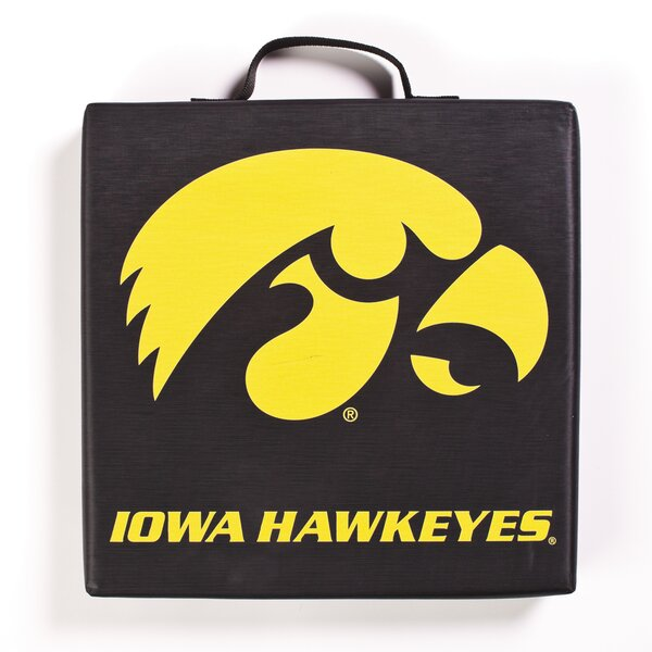 NCAA Iowa Hawkeyes Indoor/Outdoor Stadium Cushion by BSI Products