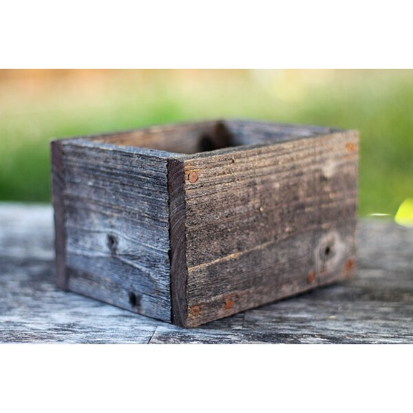 Layton Wood Planter Box by Loon Peak