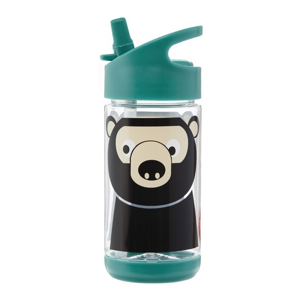 Bear 12 oz. Plastic Water Bottle by 3 Sprouts