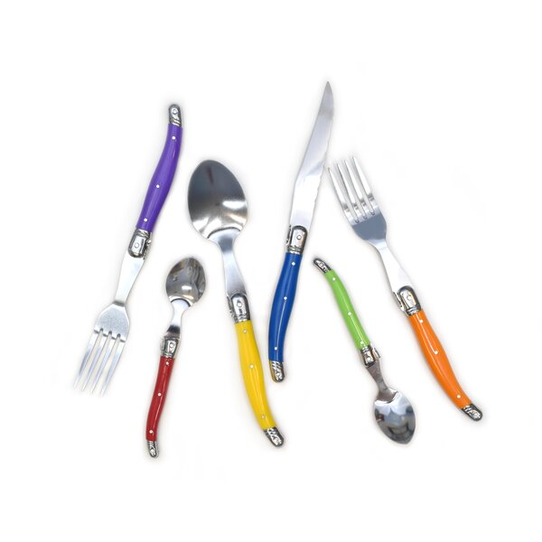 Chefs Basics 24 Piece Stainless Steel Flatware Set by Style Asia