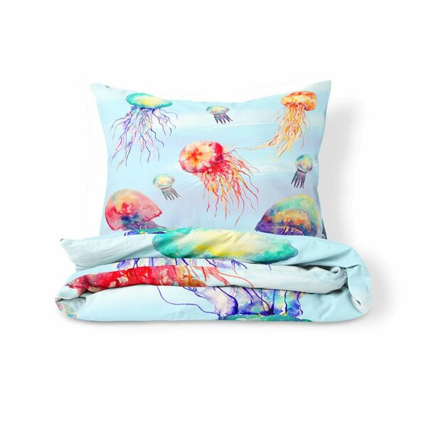 Caravelle Jellyfish Duvet Cover Set