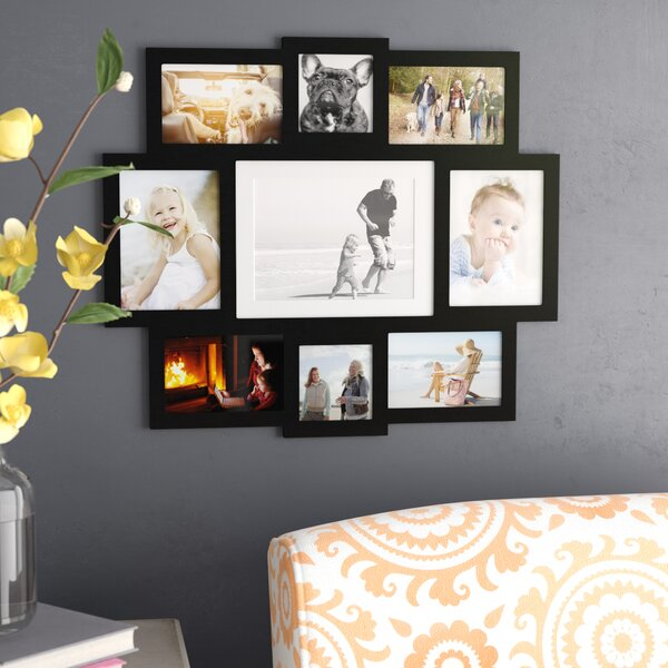 Pilger 9 Opening Central Wall Hanging Picture Frame by Latitude Run