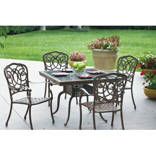 Dolby 5 Piece Dining Set with Cushions By Astoria Grand
