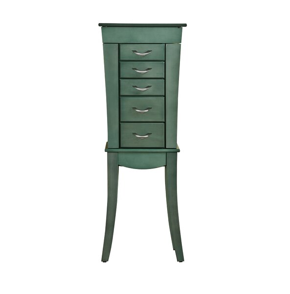 Shellburne Free Standing Jewelry Armoire by Bay Isle Home