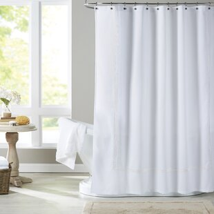white and navy shower curtain.  Navy And White Shower Curtain Wayfair
