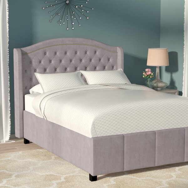 Adao Upholstered Standard Bed by Willa Arlo Interiors
