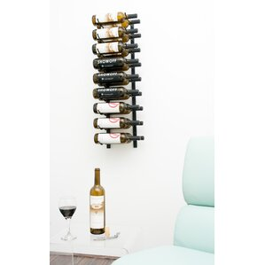 18 Bottle Wall Mounted Wine Rack by VintageView