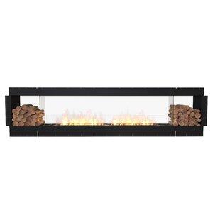 FLEX122 Double Sided Wall Mounted Bio-Ethanol Fireplace Insert By EcoSmart Fire