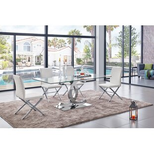Joslyn 5 Piece Dining Set by Everly Quinn