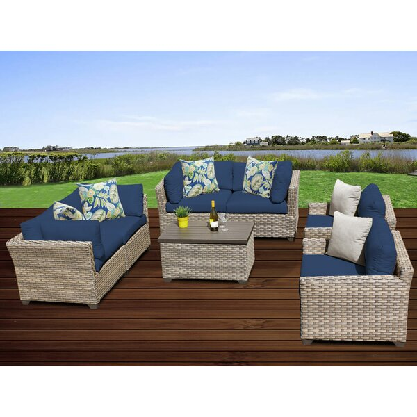 Rochford 7 Piece Sofa Seating Group with Cushions by Sol 72 Outdoor