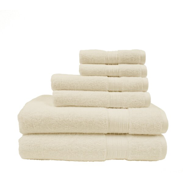 Alfreda 6 Piece Bath Towel Set by Darby Home Co