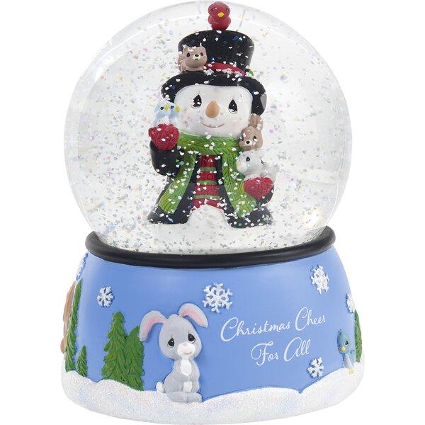 Snowman Snow Globe by Precious Moments