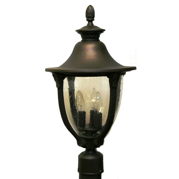 Phillipstown 4 Light 16.5 Post Lantern by Alcott Hill