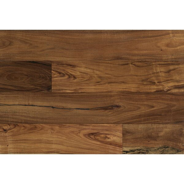 Alexander 7-1/2 Engineered Acacia Hardwood Flooring in Brown by Majesta