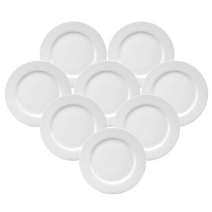 Chefu0027s Table Dinner Plate (Set of 8)  sc 1 st  Wayfair : microwave safe dinner plates - pezcame.com