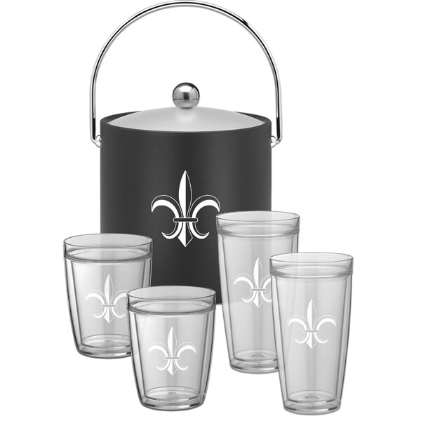 Chumley Special 5 Piece Beverage Serving Set by Fleur De Lis Living