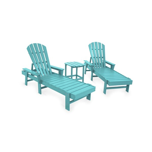 South Beach 3 Piece Seating Group