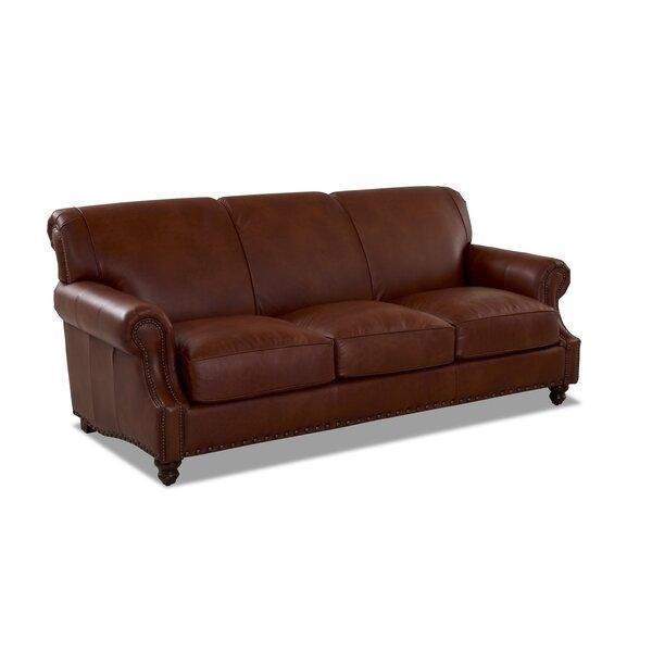 Landry Leather Sofa by Birch Lane™ Heritage