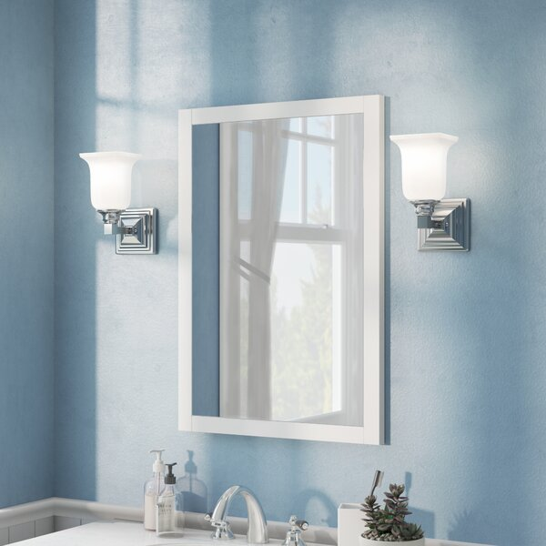 Miltonsburg Rectangle Wood Wall Mirror by Andover Mills