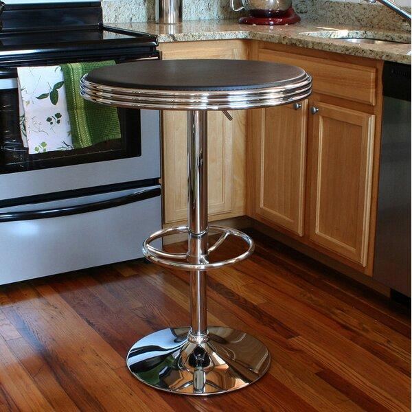 Herkimer Adjustable Pub Table By Ebern Designs New Design