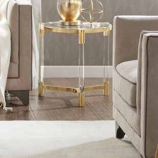 Reviews Chingford End Table ByEverly Quinn