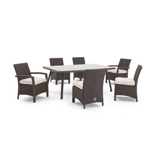 Aurora 5 Piece Dining Set with Cushions By Domus Ventures