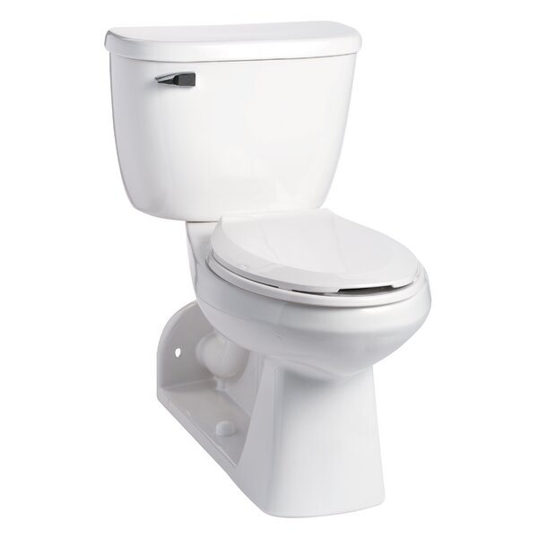 Quantum SmartHeight Pressure-Assist 1.6 GPF Elongated Two-Piece Toilet by Mansfield Plumbing Products