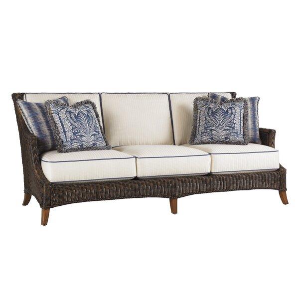Island Estate Lanai Patio Sofa with Sunbrella Cushions by Tommy Bahama Outdoor