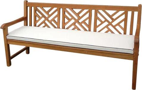 Amdt Indoor/Outdoor Bench Cushion by Red Barrel Studio