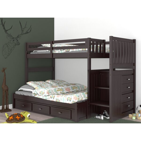 Giulio Twin Over Full Bunk Bed with Drawers by Birch Lane™ Heritage