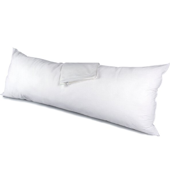 Temperature Control Polyfill Body Pillow by Alwyn Home