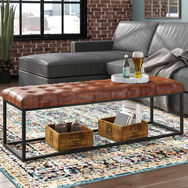 Lorilee Upholstered Bench by Williston Forge