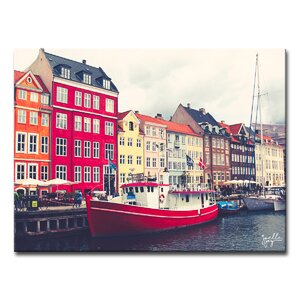 'Queen of Denmark' Photographic Print on Canvas by Ebern Designs