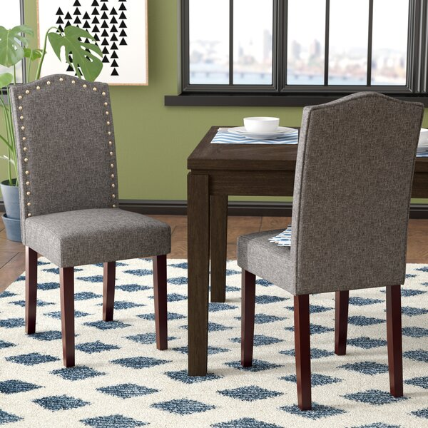 Lepore Upholstered Parsons Chair by Ivy Bronx