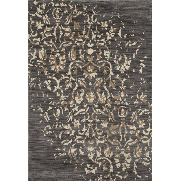 Highland Gray/Cream Area Rug by Charlton Home
