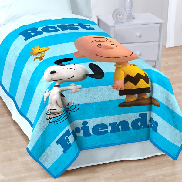 Sunny Day Fleece Throw Blanket by Peanuts
