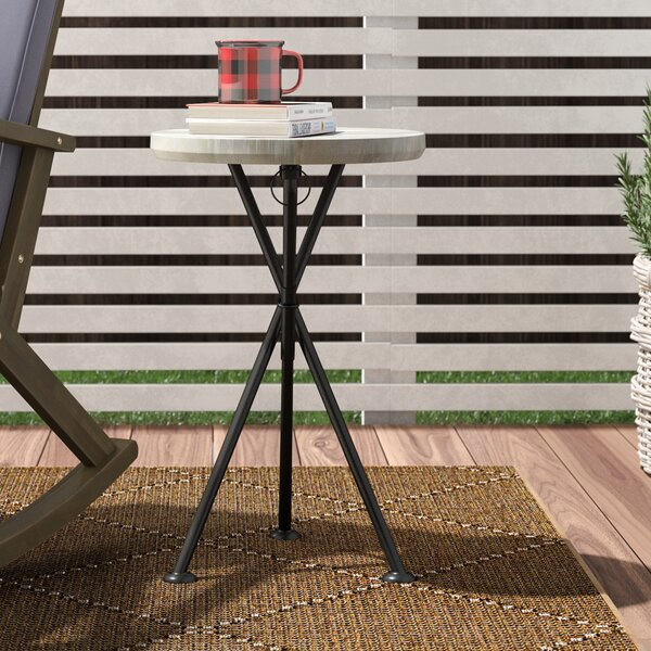 Marler Solid Wood Side Table by Union Rustic