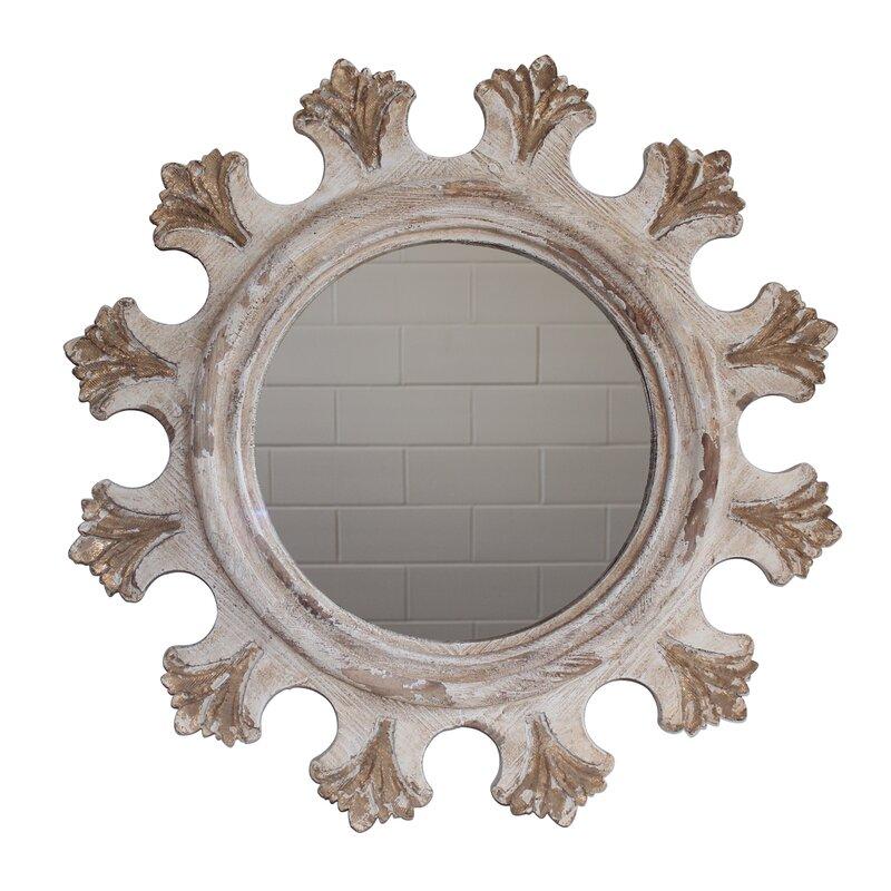 White X White Camilla Wall Mirror Wayfair