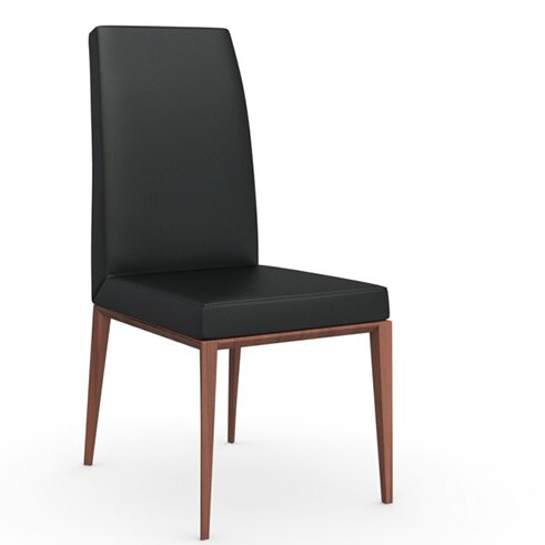 Bess Upholstered Parsons Dining Chair By Calligaris
