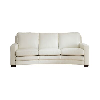 Sofa Three Posts Upholstery Ivory White