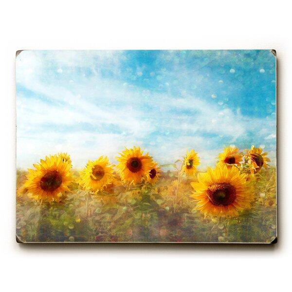 Sunflower Sky Photographic Print by Artehouse LLC
